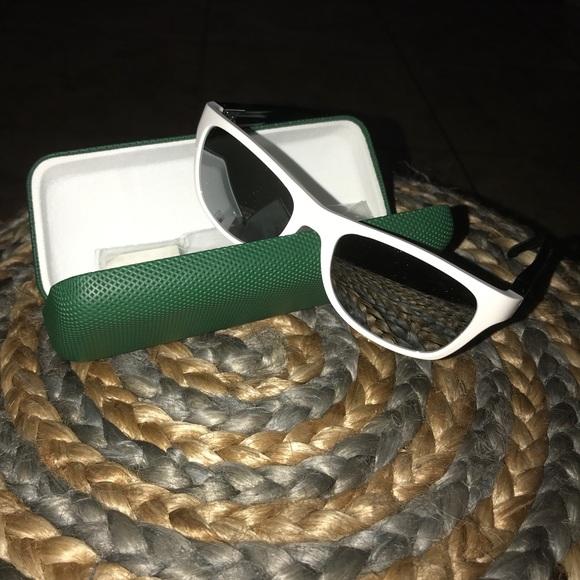 a624fc624974 Lacoste Accessories | Sunglasses White And Green New | Poshmark